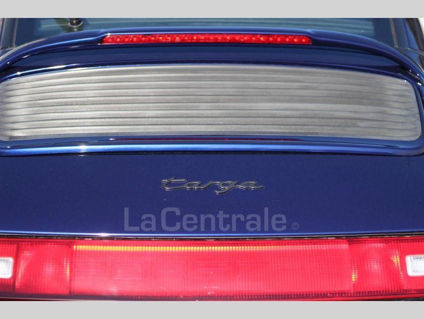 Porsche 911 TYPE 993 (993) 3.6 TARGA Bleu Foncé - 28