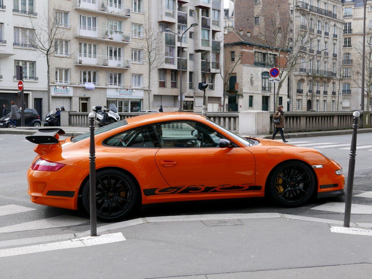 Porsche 997 GT3 RS 415 Orange verni Occasion - 8