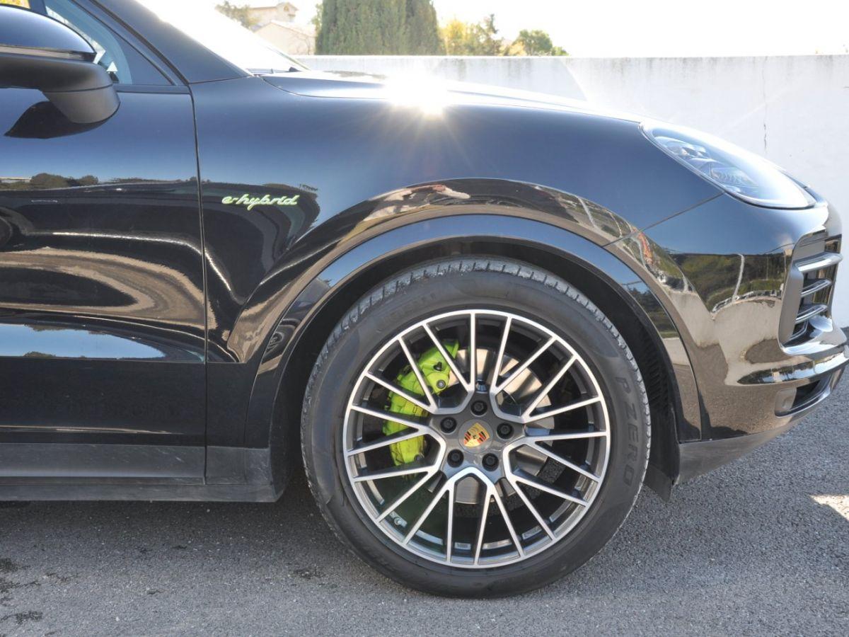 Porsche Cayenne 3.0 V6 E-HYBRID 462CH Noir - 14