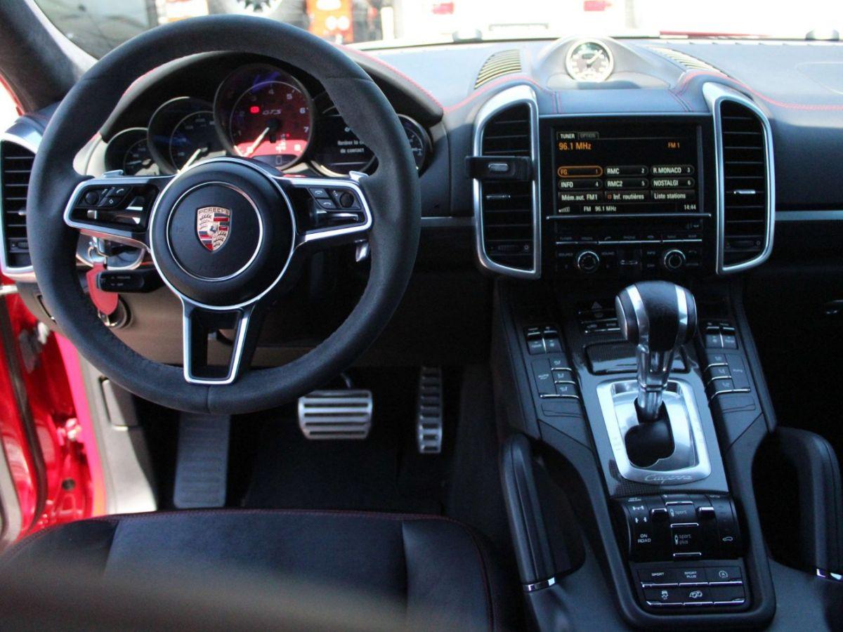 Porsche Cayenne 3.6 V6 GTS 440CH Rouge Foncé - 9