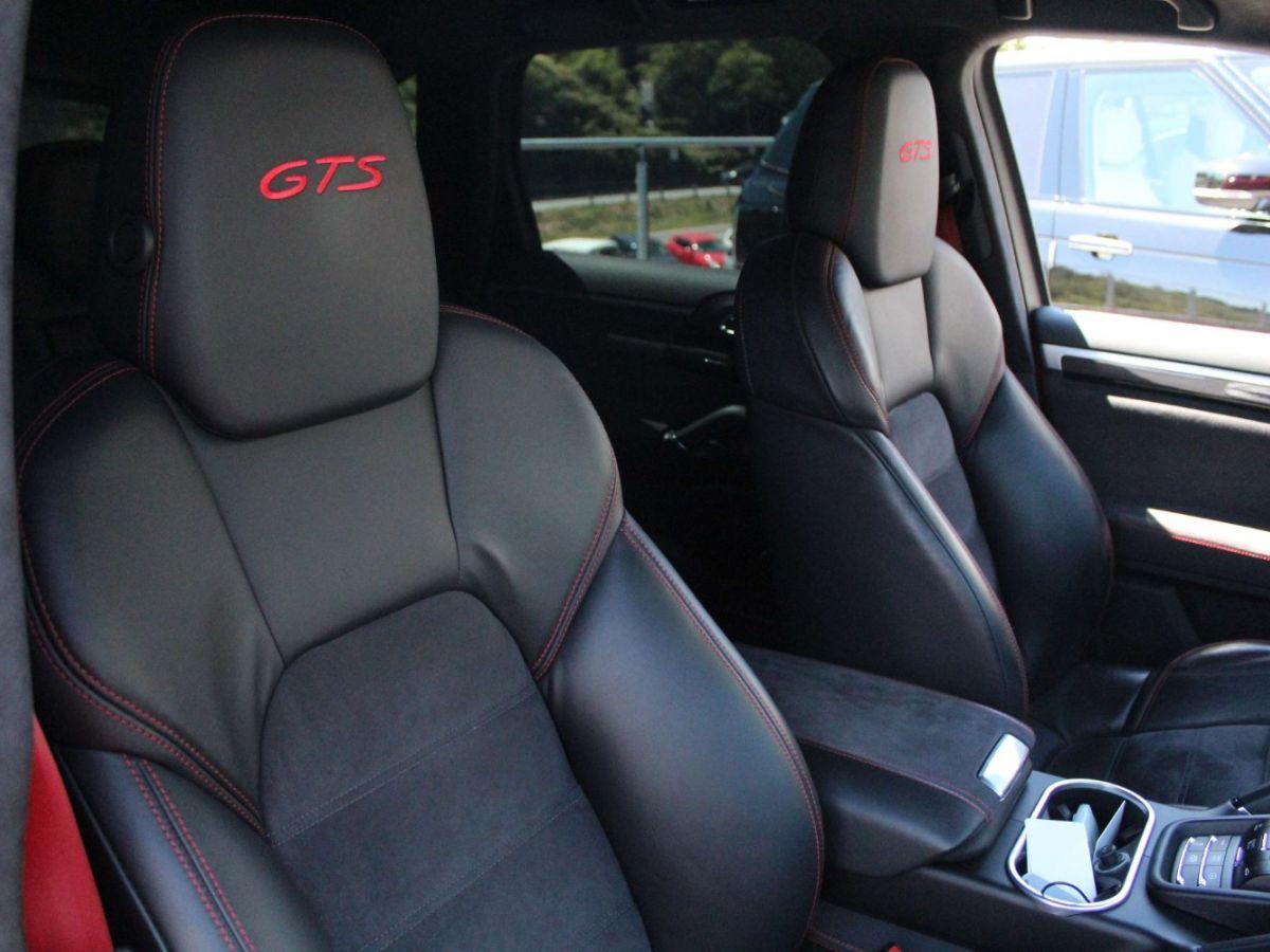 Porsche Cayenne 3.6 V6 GTS 440CH Rouge Foncé - 12