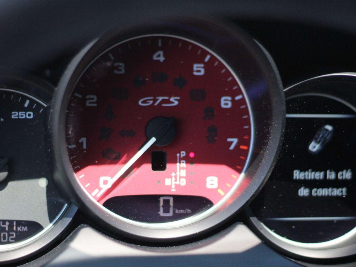 Porsche Cayenne 3.6 V6 GTS 440CH Rouge Foncé - 14