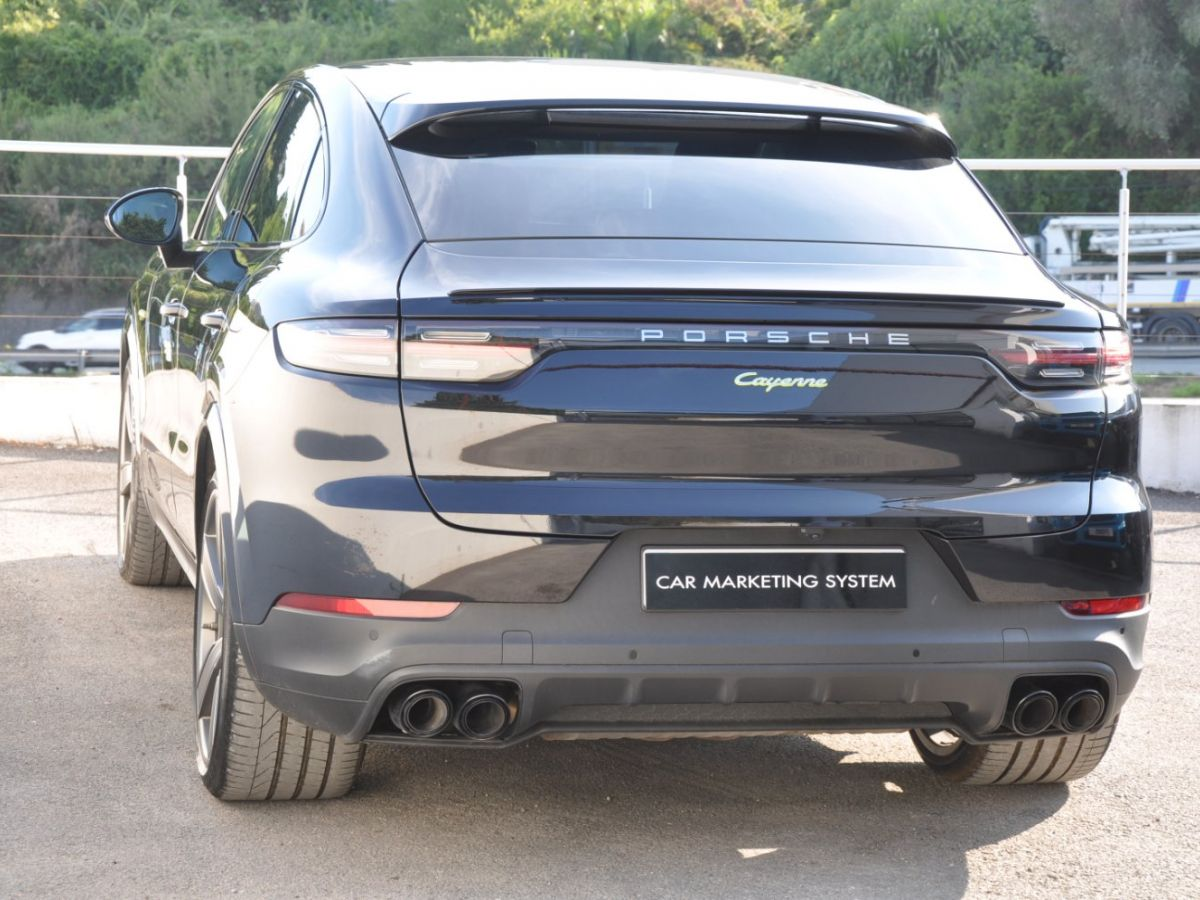 Porsche Cayenne Coupe 3.0 V6 462 Ch Tiptronic BVA E-Hybrid Noir - 7