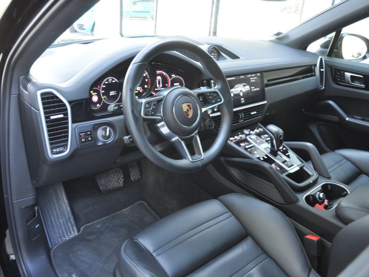 Porsche Cayenne Coupe 3.0 V6 462 Ch Tiptronic BVA E-Hybrid Noir - 8