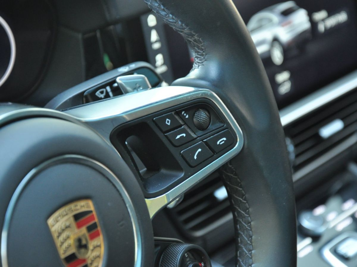 Porsche Cayenne Coupe 3.0 V6 462 Ch Tiptronic BVA E-Hybrid Noir - 23