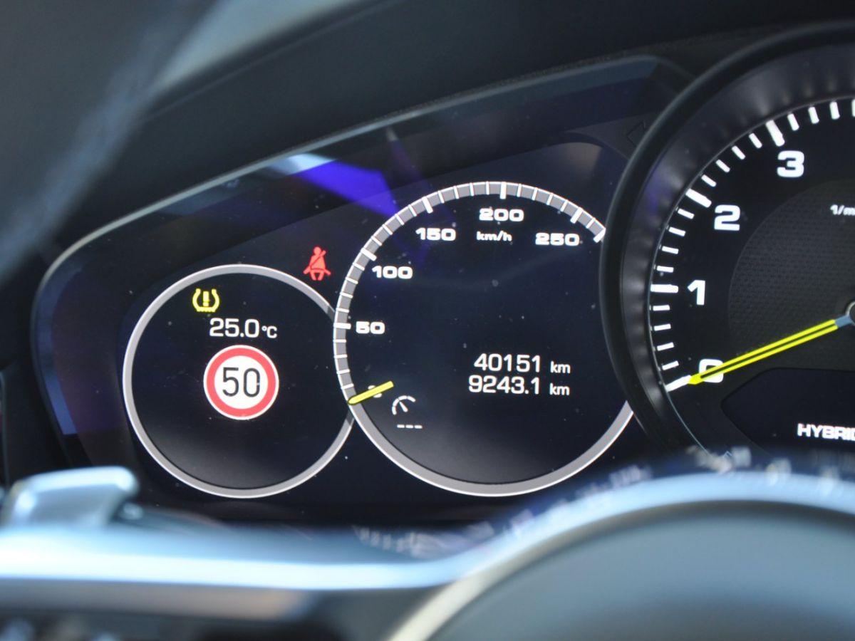 Porsche Cayenne Coupe 3.0 V6 462 Ch Tiptronic BVA E-Hybrid Noir - 28