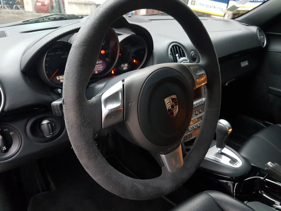 Porsche Cayman 3.4 S EDITION ONE Boîte Tiptronic Noir Métallisé - 13
