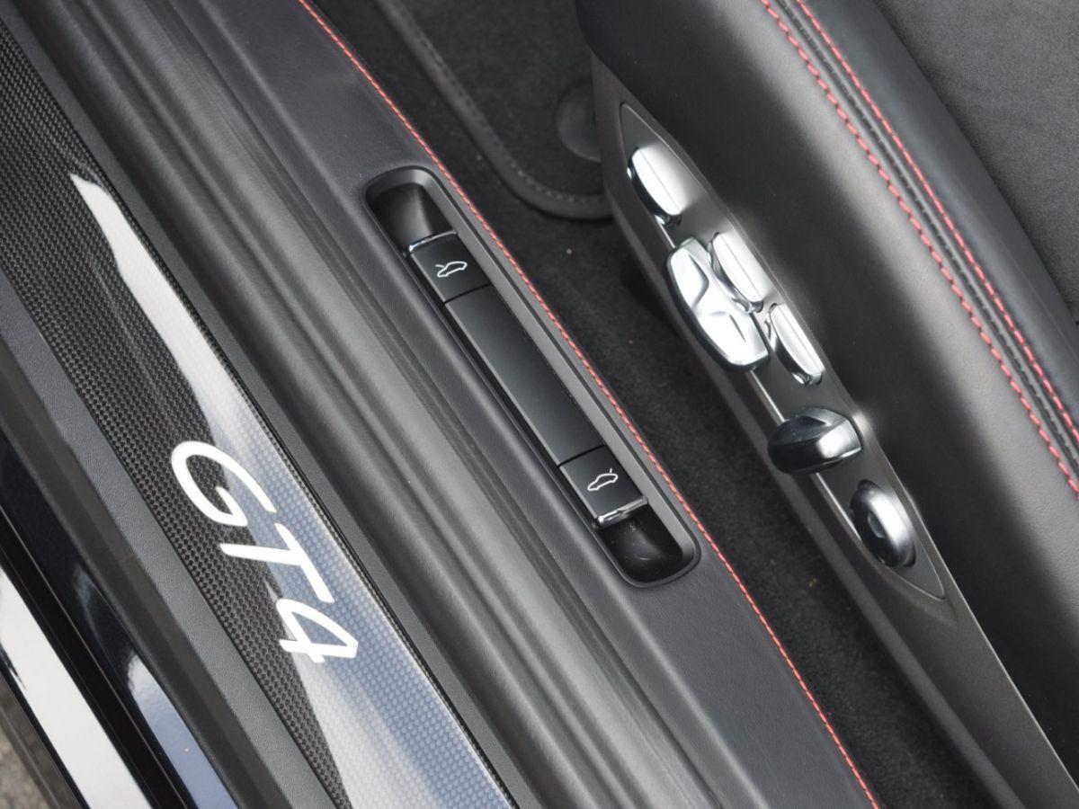 Porsche Cayman (981) GT4 Noir - 23
