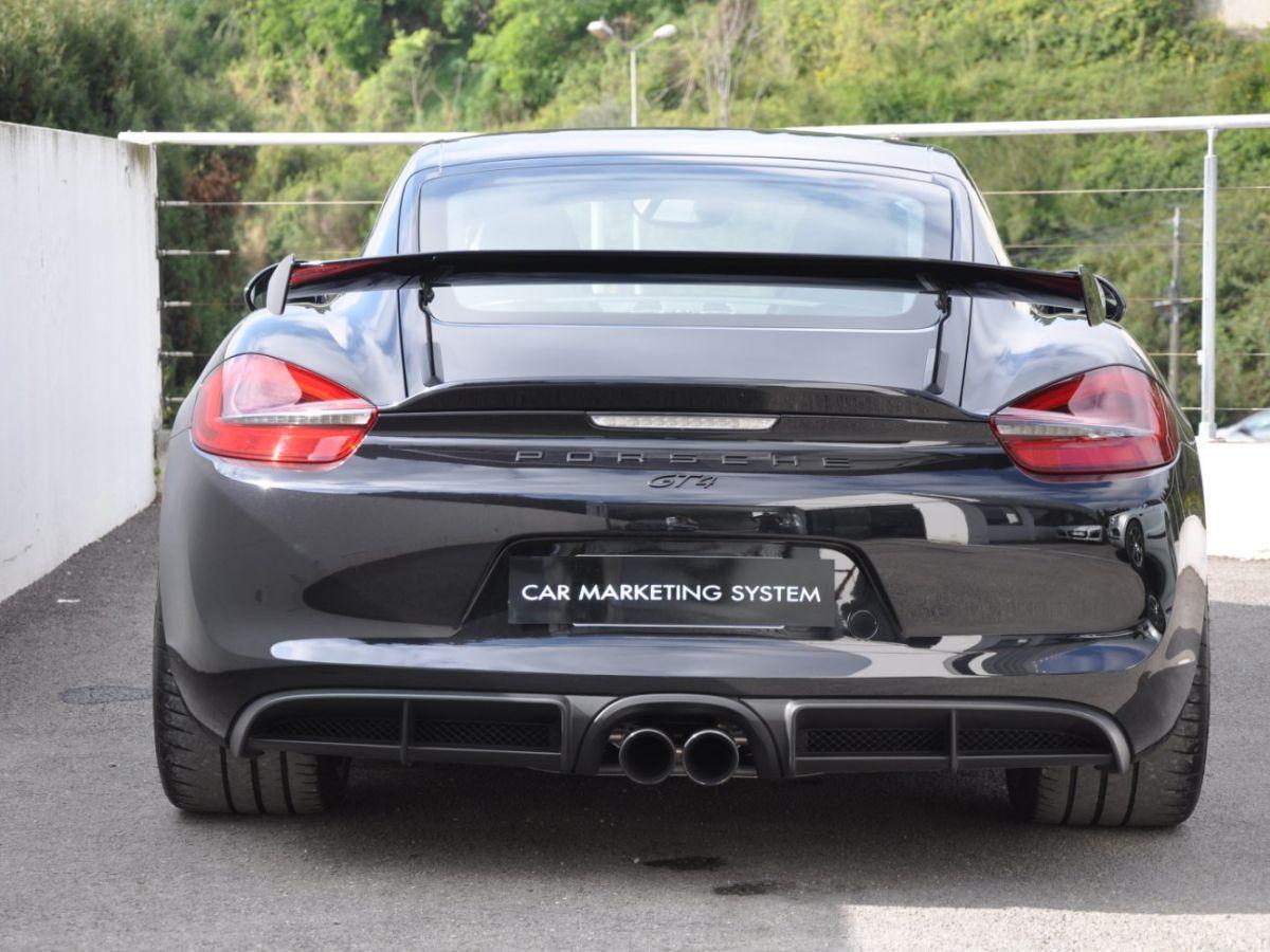 Porsche Cayman (981) GT4 Noir - 6