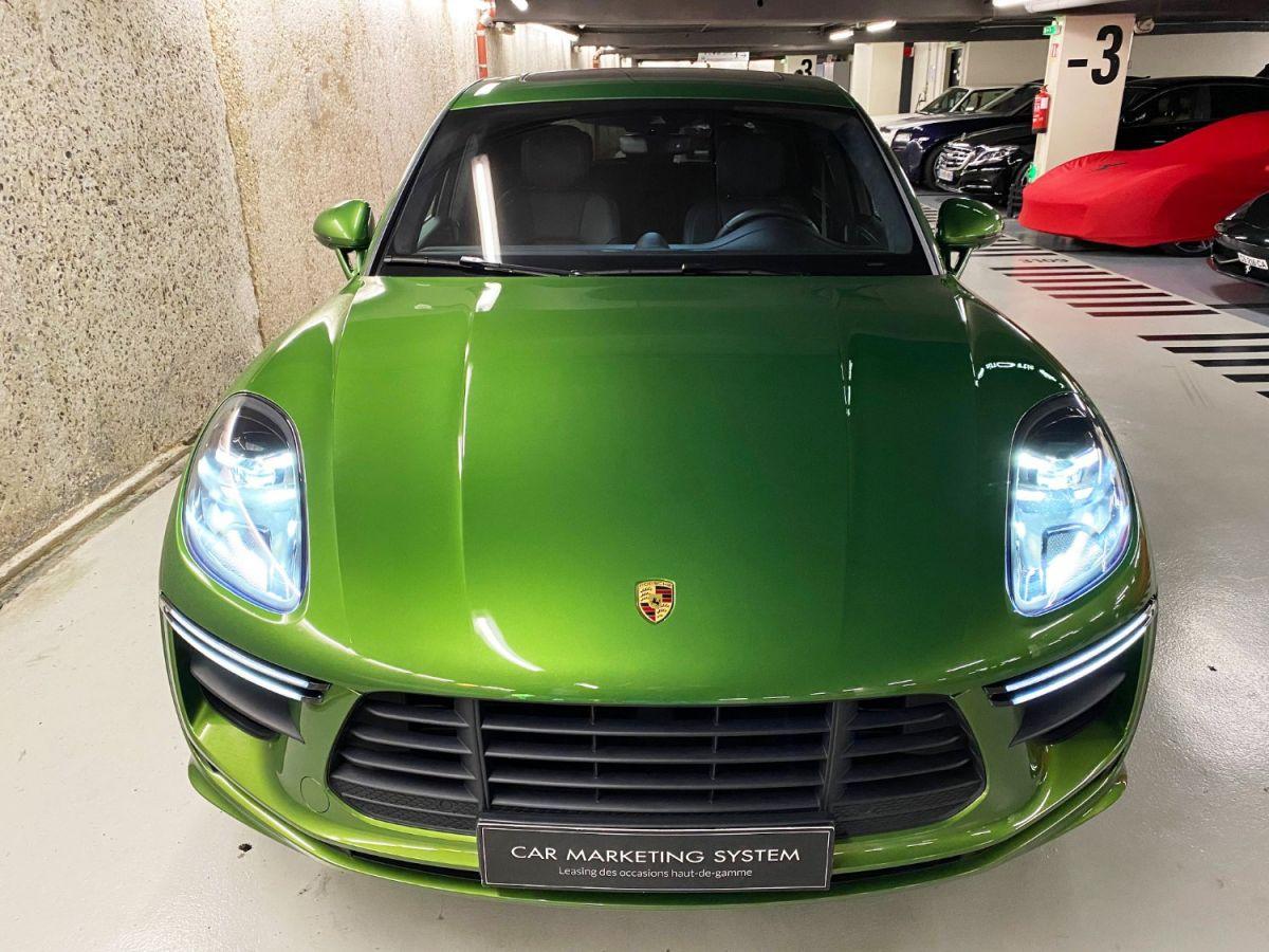 Porsche Macan (2) 3.0 440 TURBO Vert Métallisé - 9
