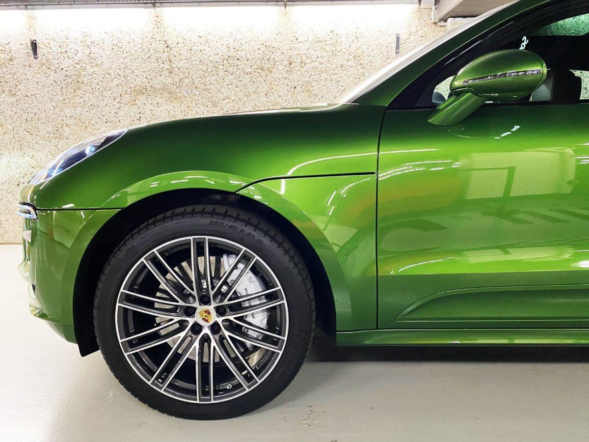 Porsche Macan (2) 3.0 440 TURBO Vert Métallisé - 4