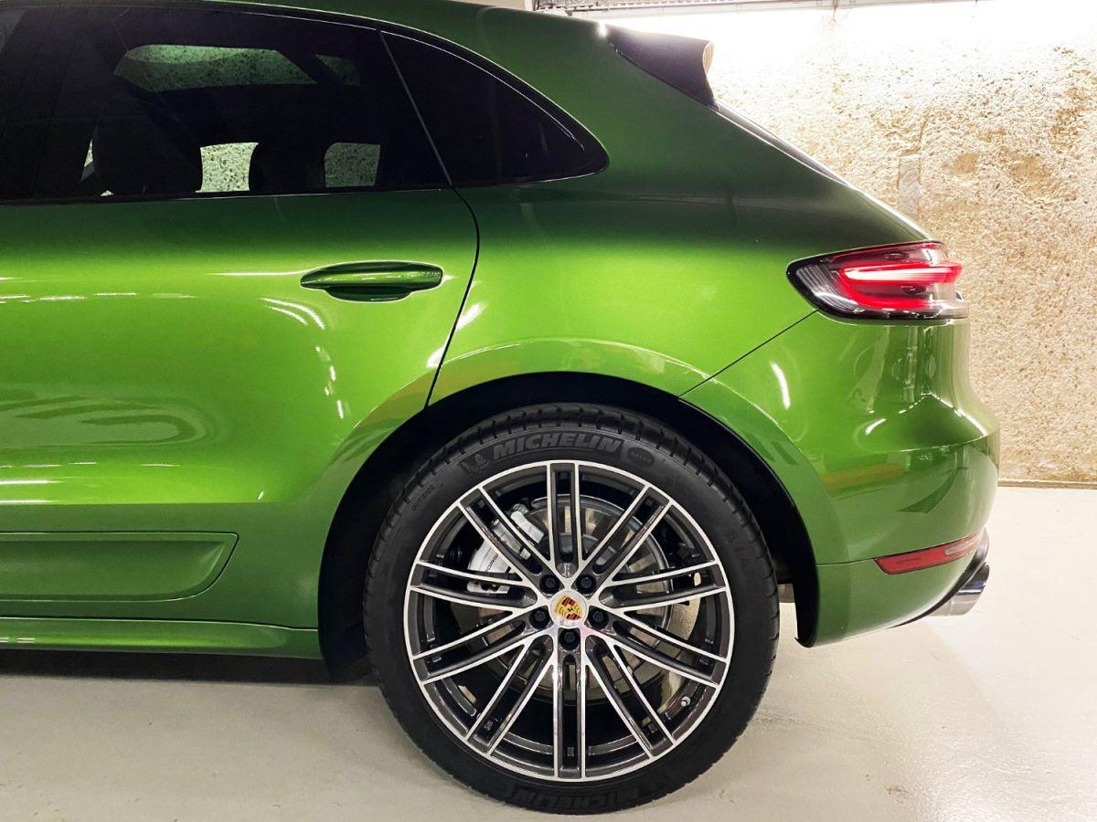 Porsche Macan (2) 3.0 440 TURBO Vert Métallisé - 14