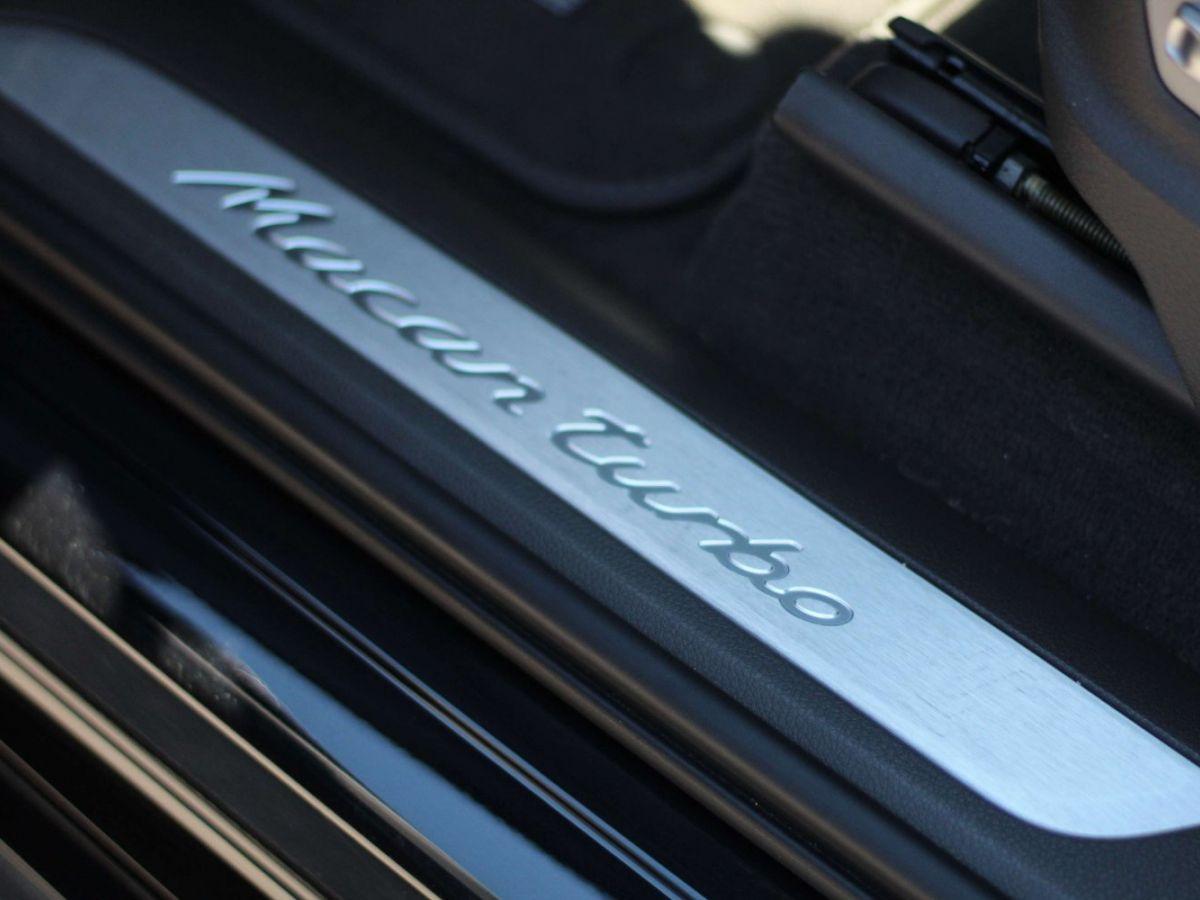 Porsche Macan 3.6 V6 TURBO 400CH Noir - 14