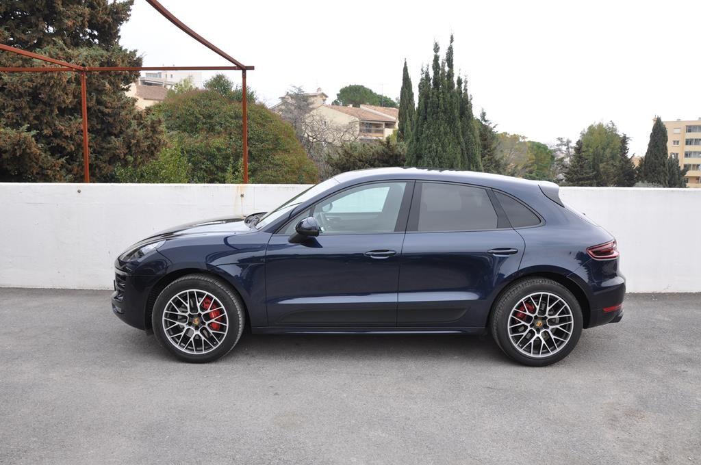 Porsche Macan GTS Bleu Foncé Métal - 3
