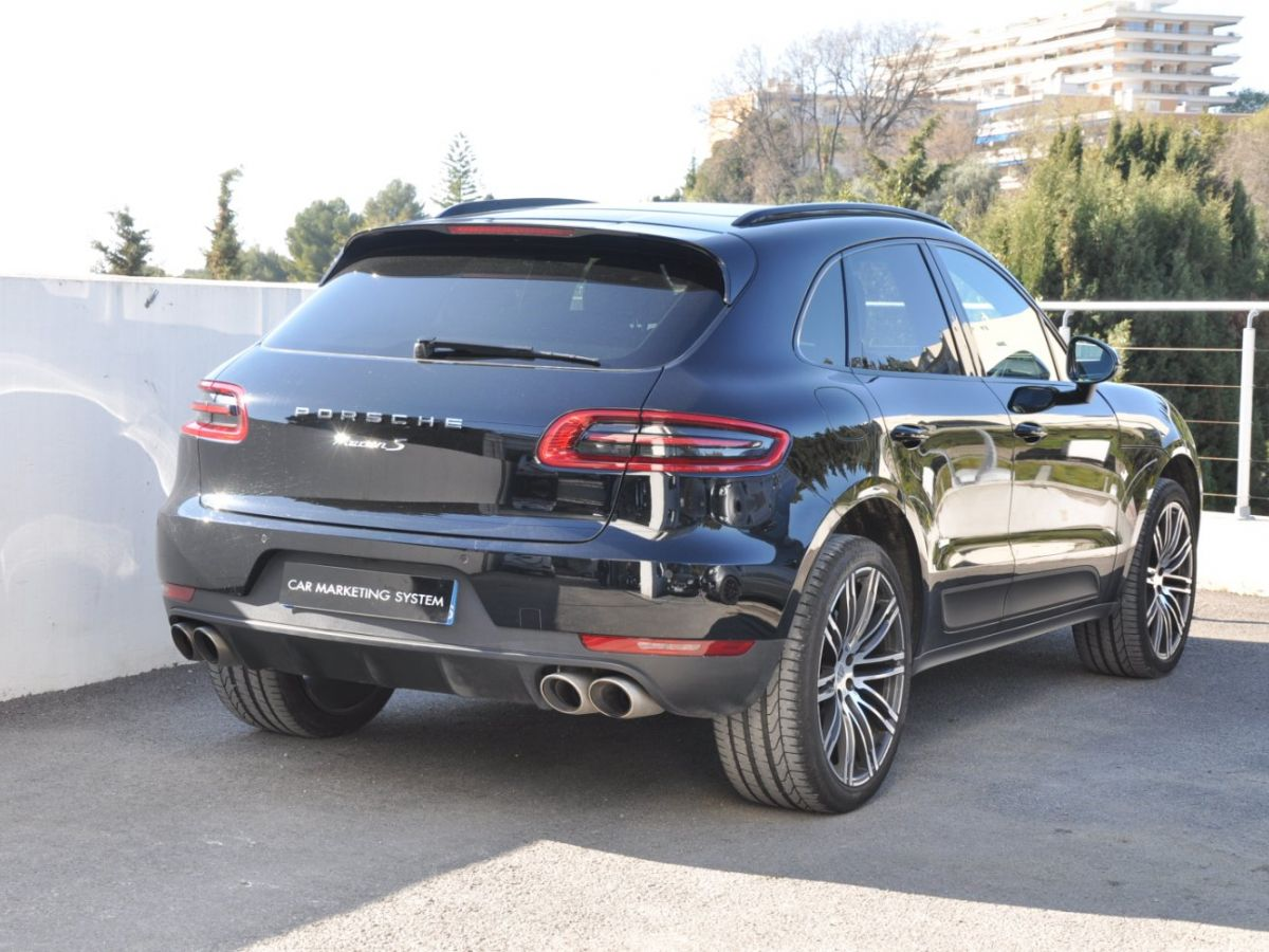Porsche Macan S DIESEL Noir - 5