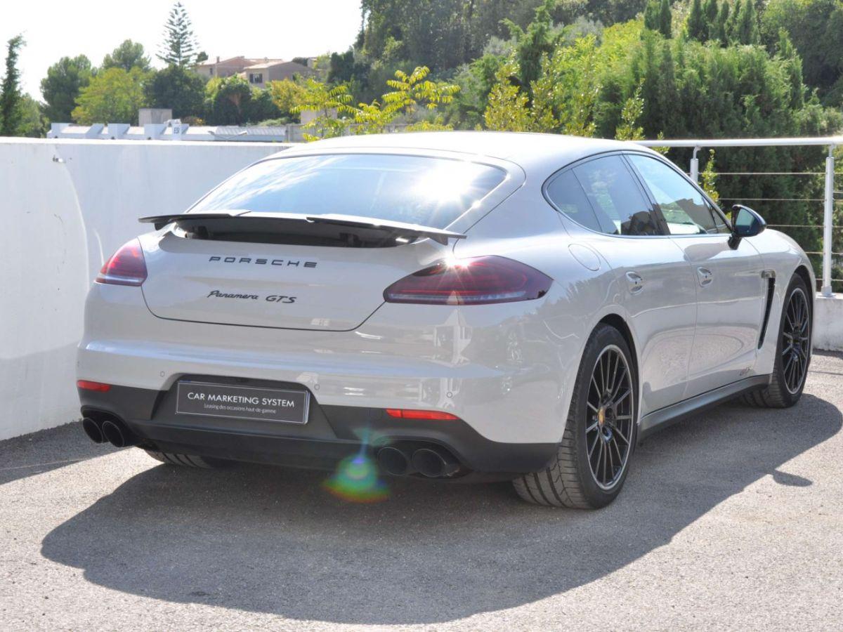 Porsche Panamera (2) GTS V8 4.8 440 PDK Gris Clair - 5