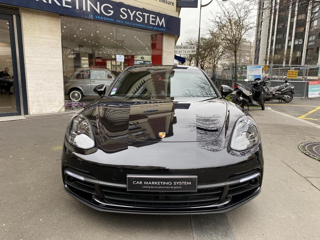 Porsche Panamera 4 V6 3.0 462 Hybrid Sport Turismo PDK Noir Métallisé - 2