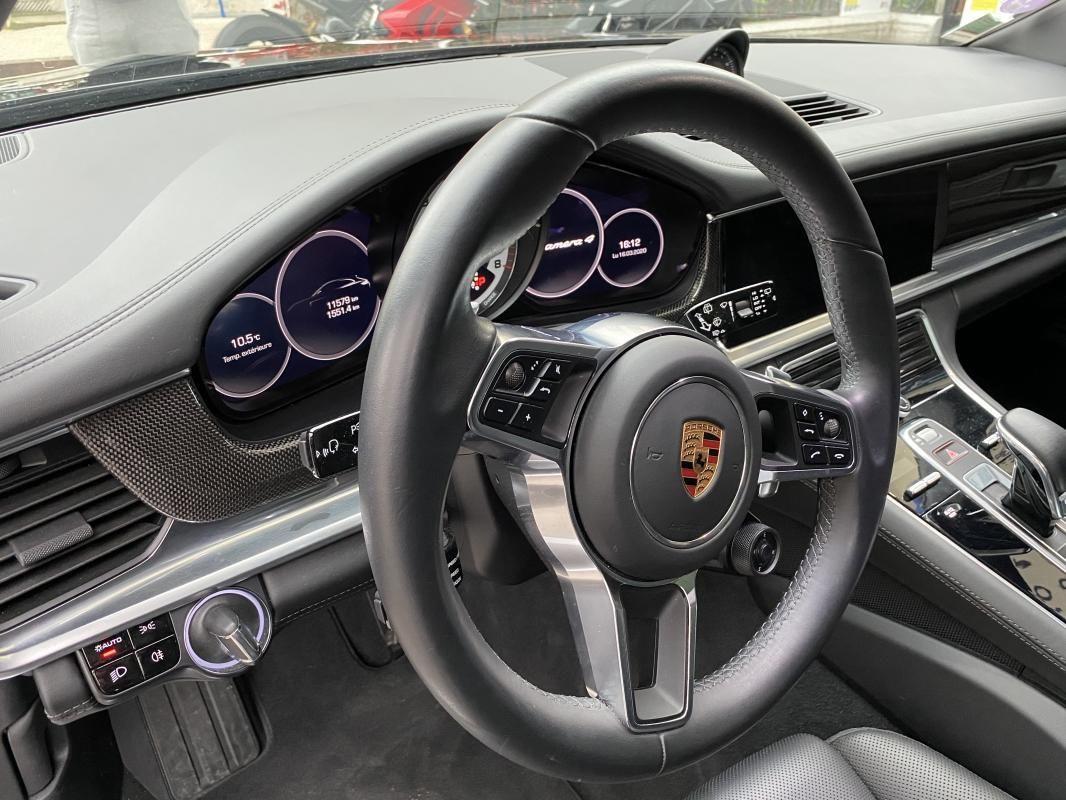 Porsche Panamera 4 V6 3.0 462 Hybrid Sport Turismo PDK Noir Métallisé - 13