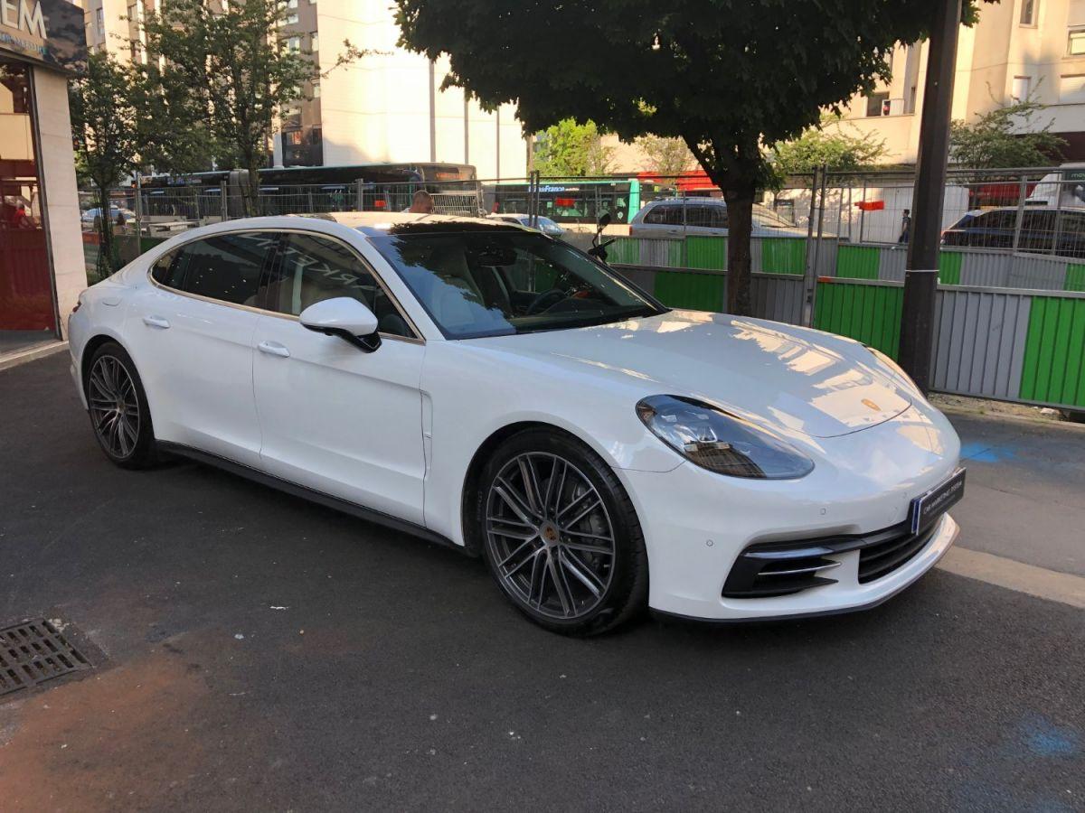 Porsche Panamera II 4S EXECUTIVE Blanc - 3