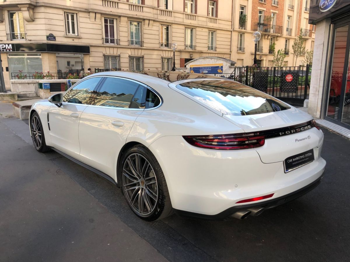 Porsche Panamera II 4S EXECUTIVE Blanc - 6