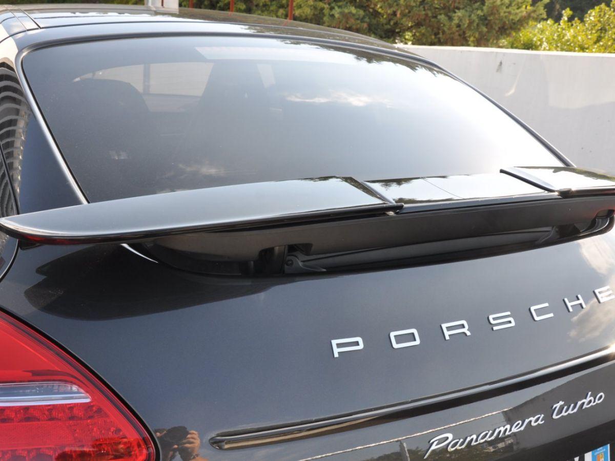 Porsche Panamera Turbo V8 4.8 500 PDK Marron - 4