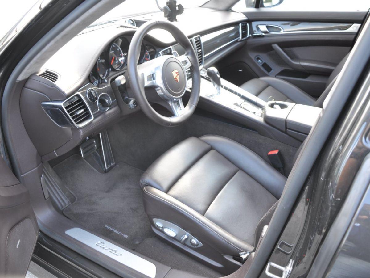 Porsche Panamera Turbo V8 4.8 500 PDK Marron - 8