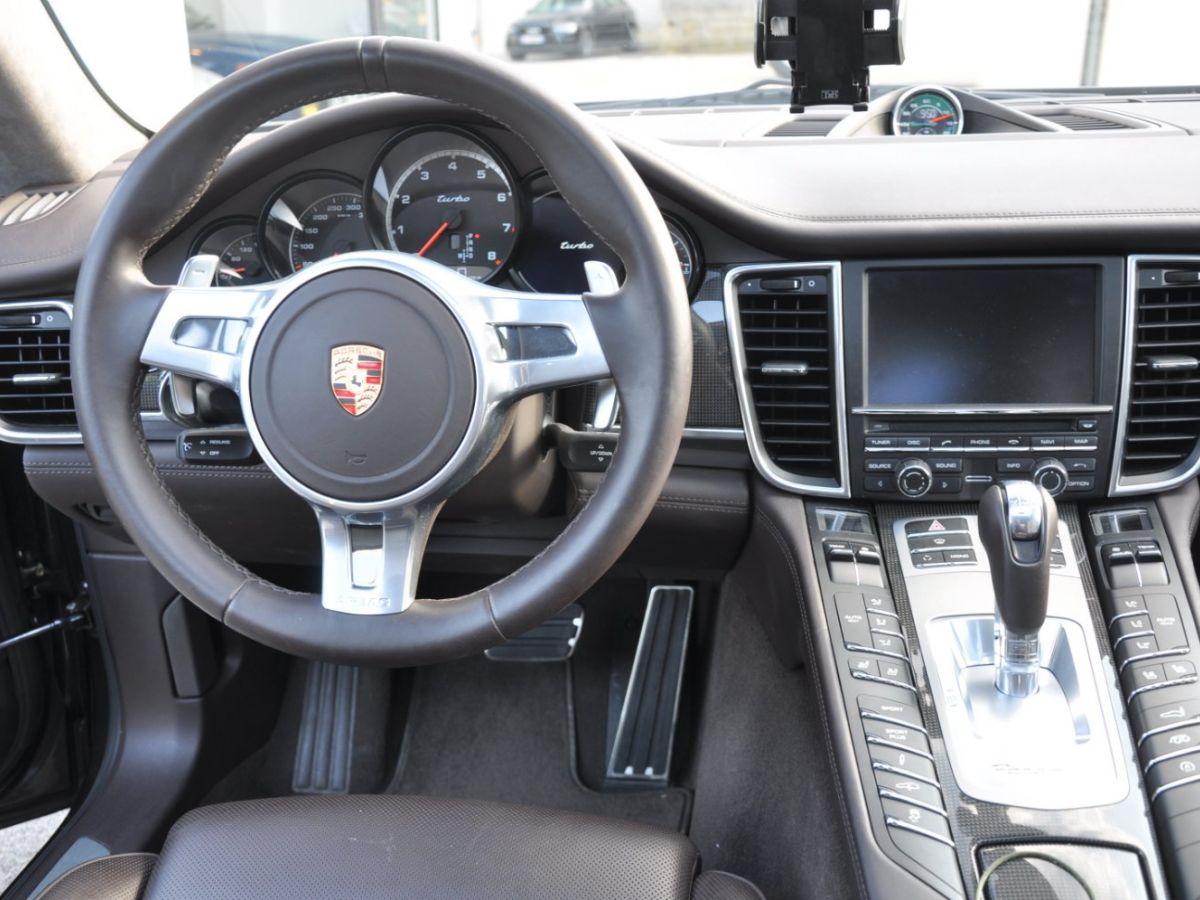 Porsche Panamera Turbo V8 4.8 500 PDK Marron - 9