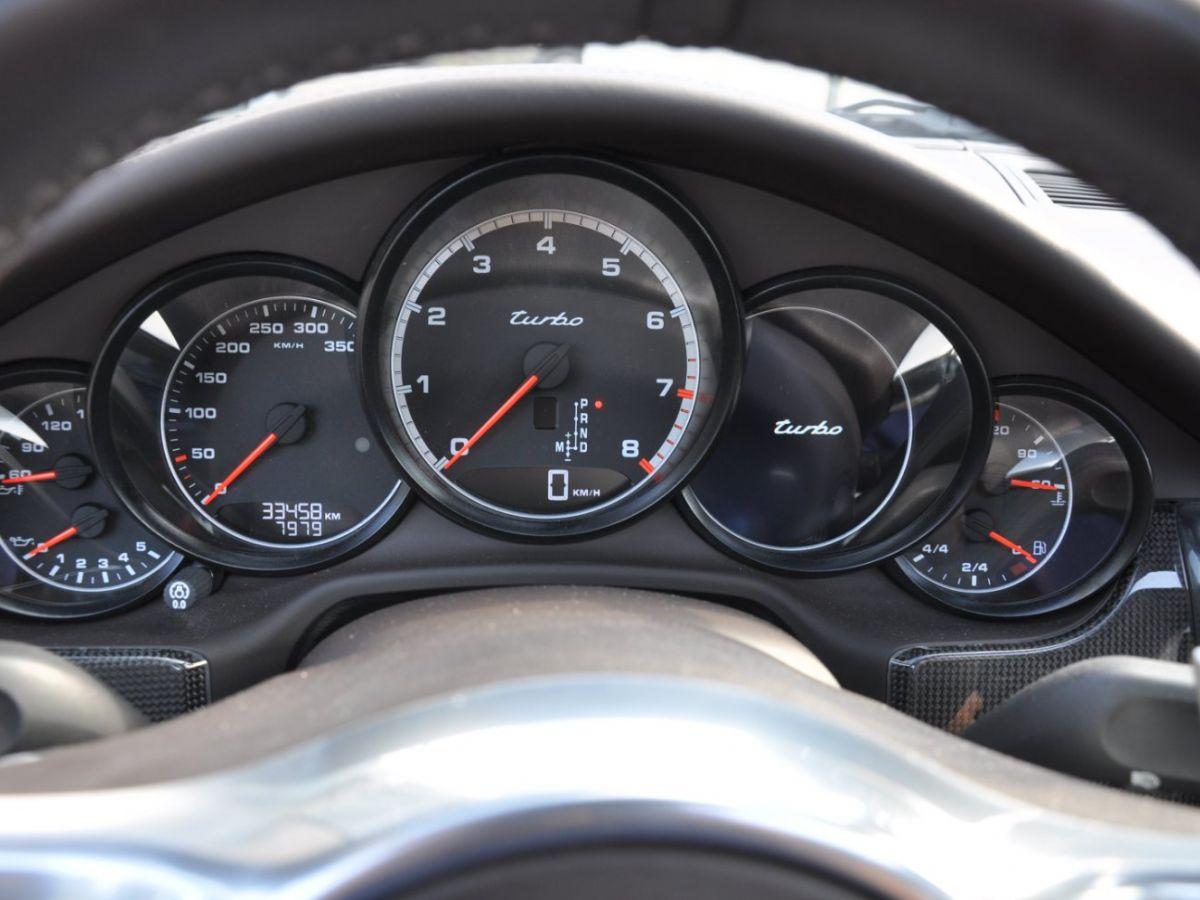 Porsche Panamera Turbo V8 4.8 500 PDK Marron - 11