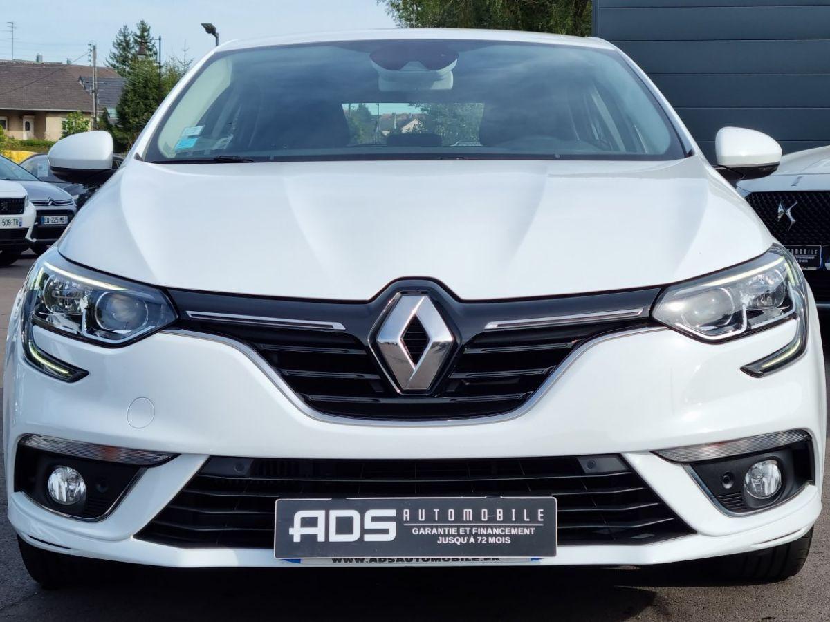 Renault Megane IV (BFB) 1.5 dCi 110ch energy Business BLANC - 2
