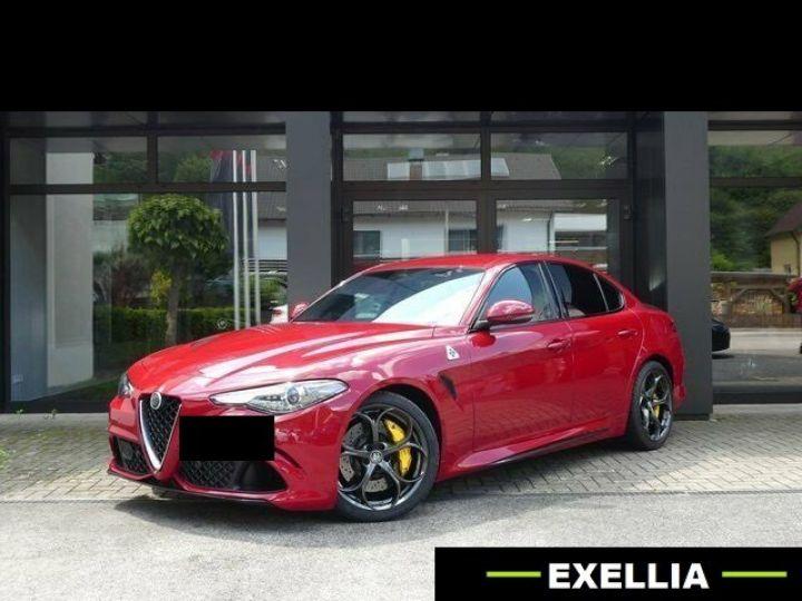 Alfa Romeo Giulia Quadrifoglio 2.9 V6 Bi-Turbo  ROUGE PEINTURE METALISE  Occasion - 11