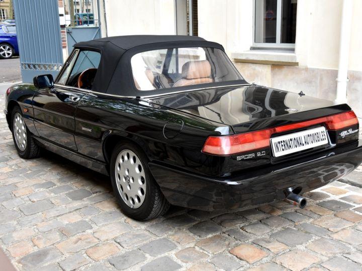 Alfa Romeo Spider 2.0i Noir Opaque Verni - 10