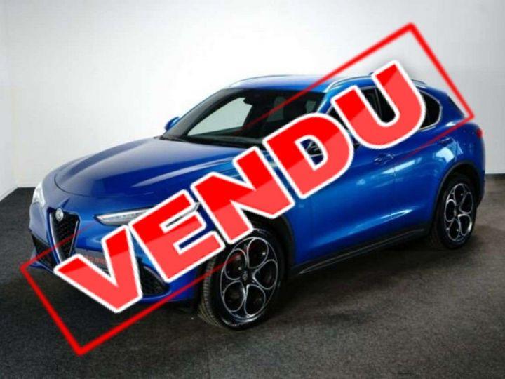 Alfa Romeo Stelvio 2.0Turbo 280 ch Q4 AT8 4X4 /Super /Options / Garantie 12 Mois Bleu Métal - 1
