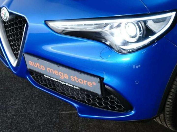 Alfa Romeo Stelvio 2.0Turbo 280 ch Q4 AT8 4X4 /Super /Options / Garantie 12 Mois Bleu Métal - 8