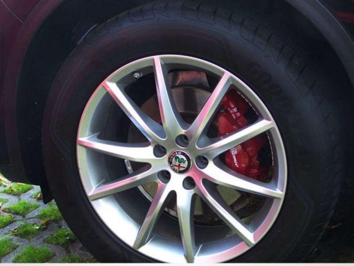 Alfa Romeo Stelvio 2.2 Diesel 209ch Super Q4 AT8 *Toit ouvrant pano - Cuir* Livraison et garantie 12 mois incluse Noir vulcano métalisé - 10