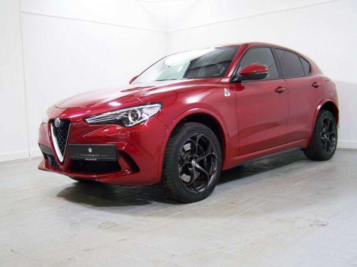 Alfa Romeo Stelvio 2.9 V6 510 Q4 QUADRIFOGLIO AT8 / Garantie 12 Mois  / GPS Rouge - 2