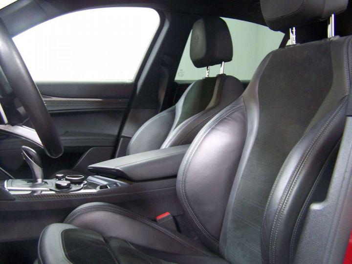 Alfa Romeo Stelvio 2.9 V6 510 Q4 QUADRIFOGLIO AT8 / Garantie 12 Mois  / GPS Rouge - 5