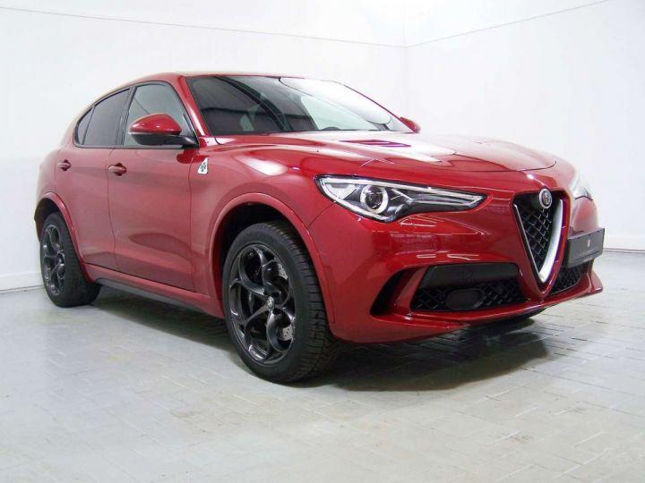 Alfa Romeo Stelvio 2.9 V6 510 Q4 QUADRIFOGLIO AT8 / Garantie 12 Mois  / GPS Rouge - 8