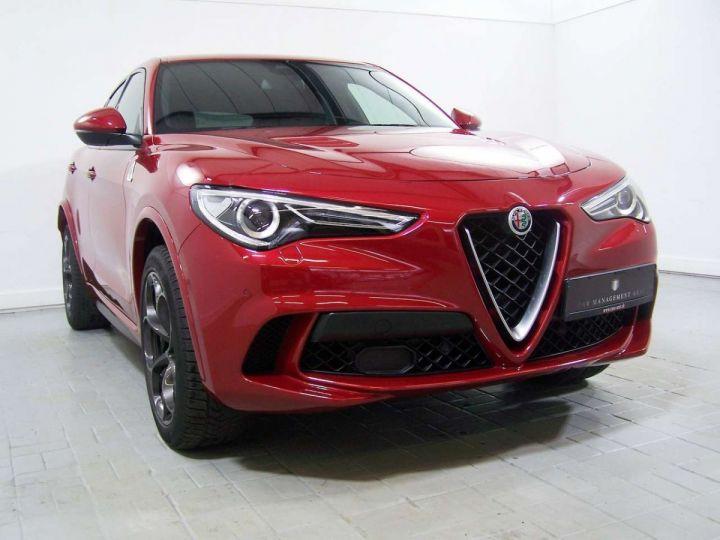 Alfa Romeo Stelvio 2.9 V6 510 Q4 QUADRIFOGLIO AT8 / Garantie 12 Mois  / GPS Rouge - 9