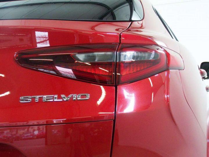Alfa Romeo Stelvio 2.9 V6 510 Q4 QUADRIFOGLIO AT8 / Garantie 12 Mois  / GPS Rouge - 10
