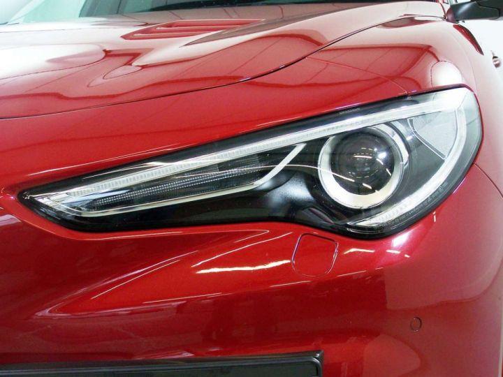 Alfa Romeo Stelvio 2.9 V6 510 Q4 QUADRIFOGLIO AT8 / Garantie 12 Mois  / GPS Rouge - 11