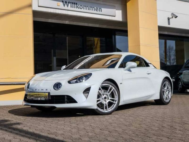 Alpine A110 Pure Édition 252 cv blanc - 1