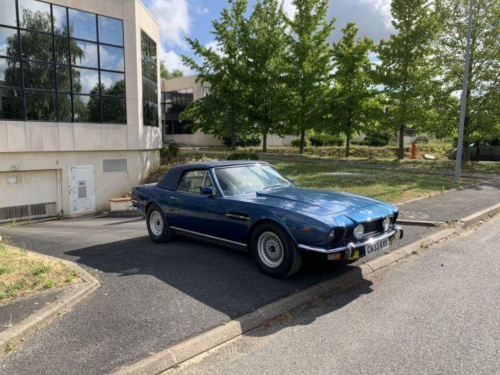 Aston Martin AM V8 Volante Bleu Métallisé Occasion - 1
