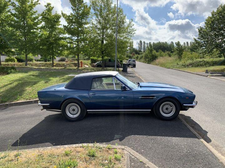 Aston Martin AM V8 Volante Bleu Métallisé Occasion - 3