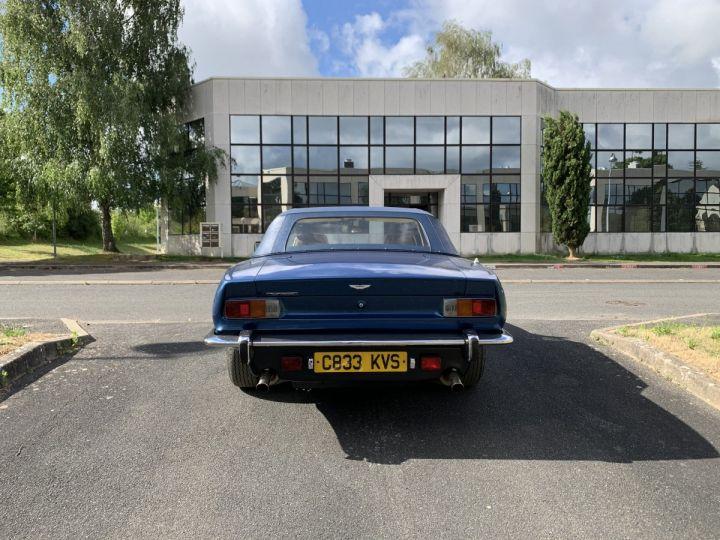 Aston Martin AM V8 Volante Bleu Métallisé Occasion - 4