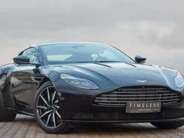 Aston Martin DB11 BODYPACK BLACK#PACK TECHNOLOGY#PACK EXTERIEUR BRIGHT FINISHER Onyx Black métal - 1