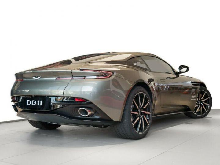 Aston Martin DB11 Coupe V12, 4500Kms, Gtie usine # Vert Peinture métallisée - 1