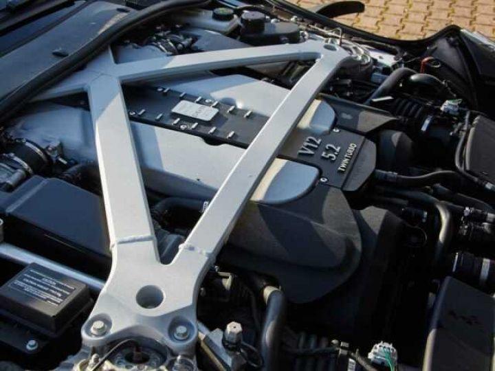 Aston Martin DB11 V12 TOUCHTRONIC III 8 rapports# Bodypack Black Ultramarine Black - 20