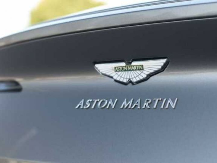 Aston Martin DB11 V8#PACK BLACK PLUS Tungsten Silver métal - 14