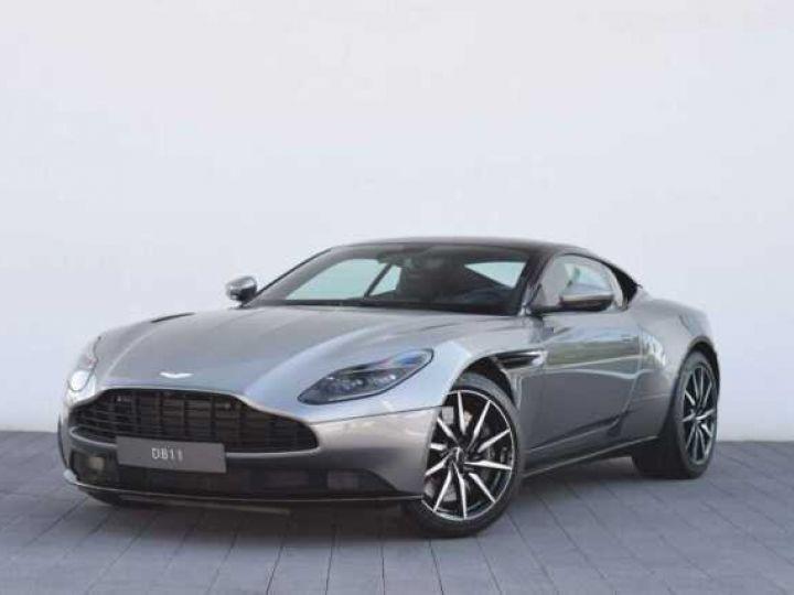Aston Martin DB11 V8 #PACK BLACK PLUS#PACK TECHNOLOGY# Tungsten Silver métal - 2