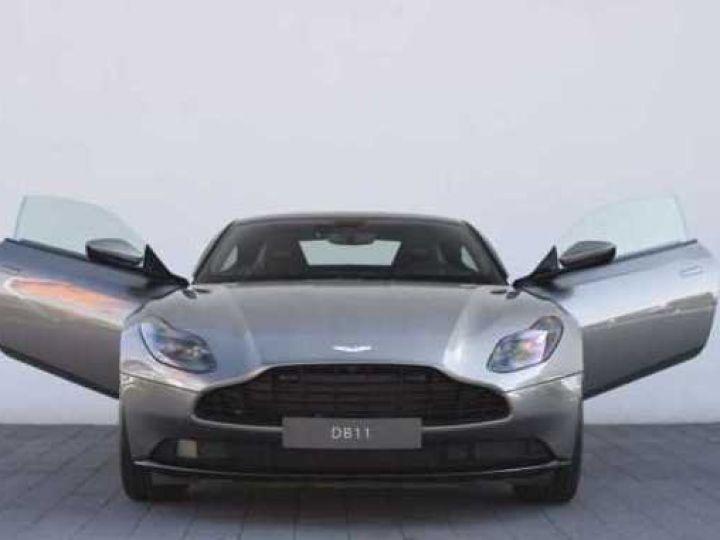 Aston Martin DB11 V8 #PACK BLACK PLUS#PACK TECHNOLOGY# Tungsten Silver métal - 19
